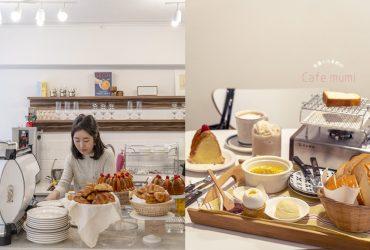 台北咖啡|Cafe mumi,餐桌上的烤吐司野餐~韓國太太和台灣老公在台紮根的正韓系咖啡廳