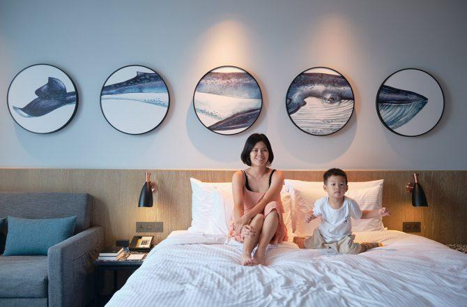 COZZI Blu|宛如置身海底船艙,夢幻海洋風設計飯店。Xpark就在隔壁|桃園住宿推薦