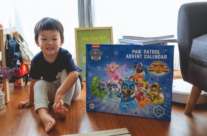 開箱|聖誕禮物推薦!2020汪汪隊聖誕降臨曆,讓孩子享受一格格拆禮物的驚喜