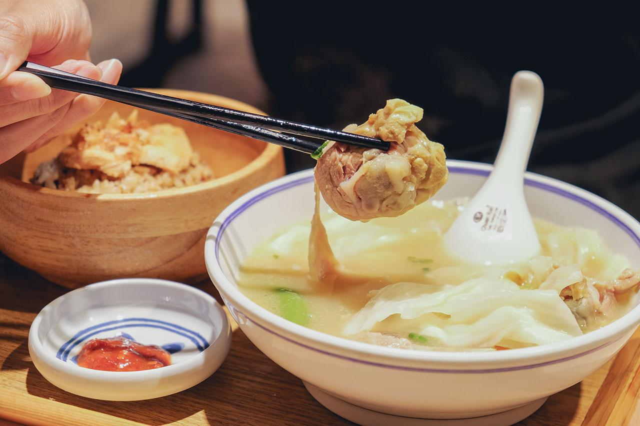 內湖餐廳|慢熬雞湯專賣,大飽足套餐就像在家吃飯|好好食房
