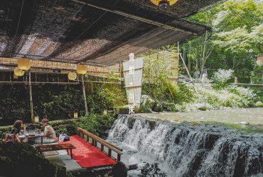 京都景點|夏季限定川床料理,聽潺潺溪水享用超豪華和牛涮涮鍋|貴船莊