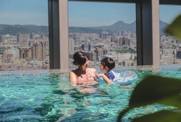 新板希爾頓酒店|躲進城市裡的度假綠洲,無邊際景觀泳池。粵菜放題。新北市首間國際飯店