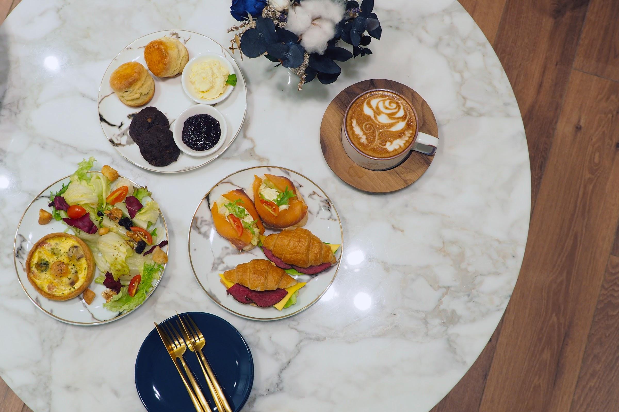 (已歇業)台北咖啡|民生社區靜巷內品嚐三層下午茶 Chubby Bird County 比你想像更講究〖食攝人生事務所〗