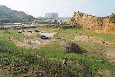 新北景點|「台版大峽谷」林口水牛坑,輕易拍出磅礴網美照的黃土蒼穹美景,源自美麗的錯誤?